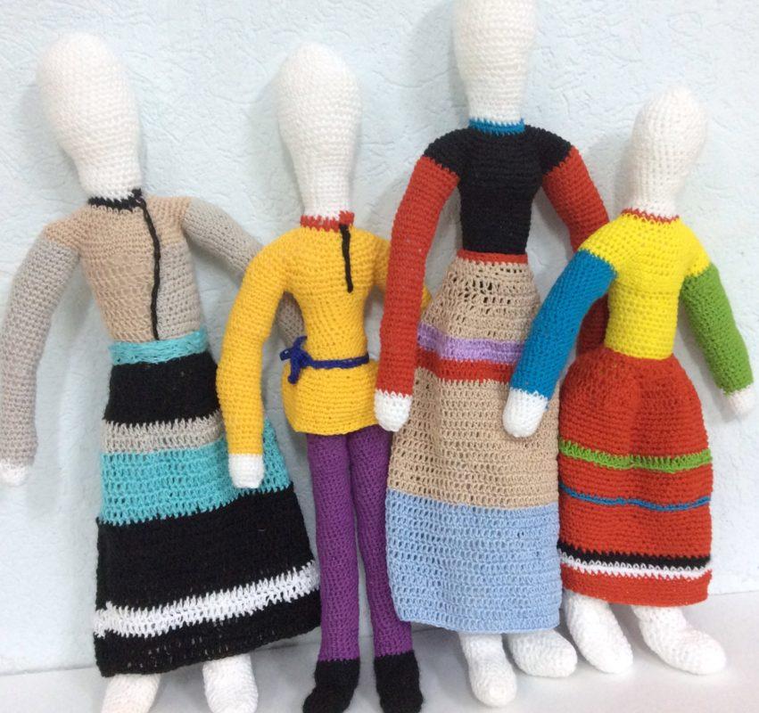 Сувенирные куклы Суприматизм<br>750 руб.